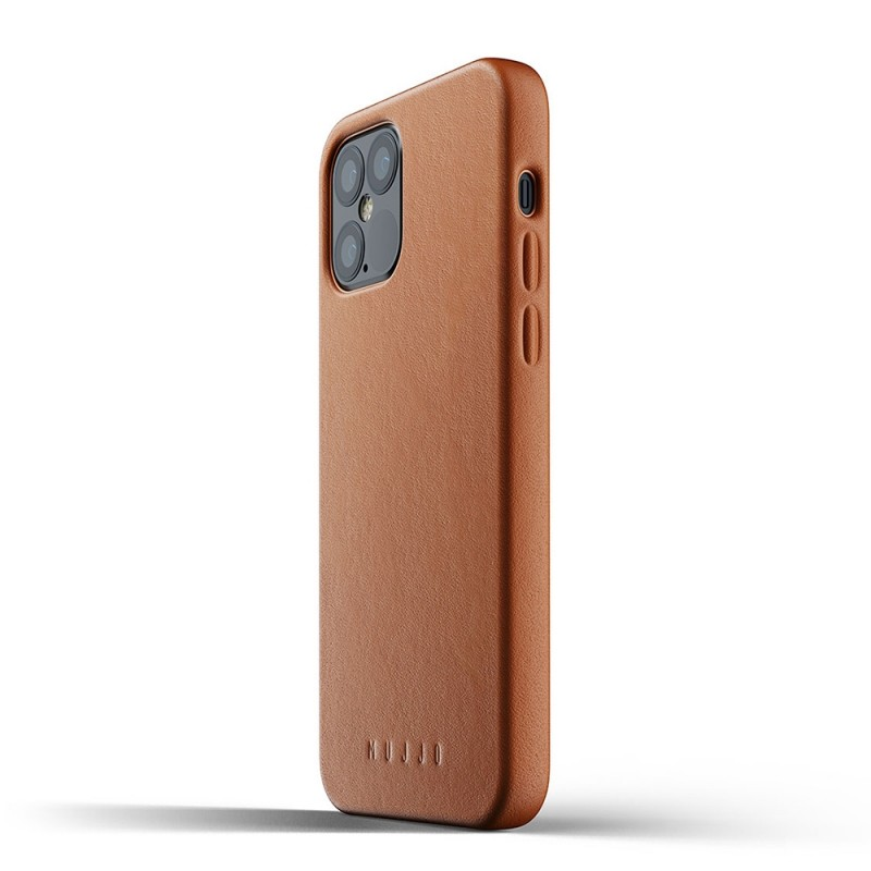 Mujjo Leather Case iPhone 12 / iPhone 12 Pro 6.1 Bruin - 2