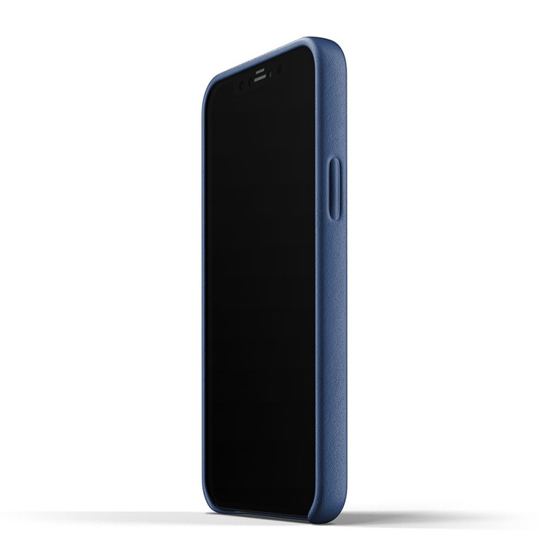 Mujjo Leather Wallet iPhone 12 Pro Max Blauw - 2