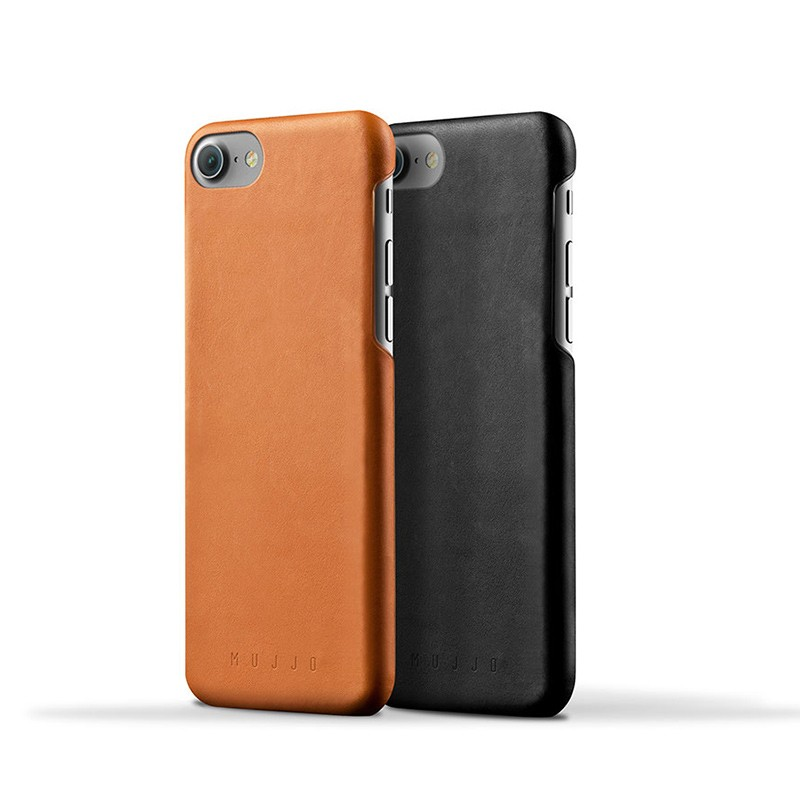 Mujjo Leather Case iPhone 7 Black 03