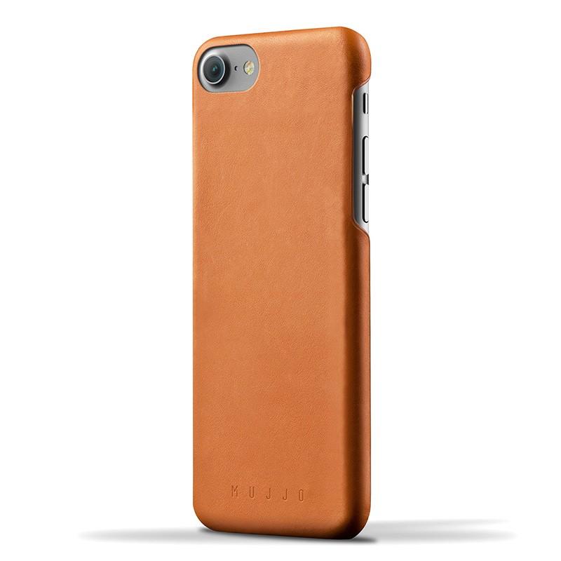 Mujjo Leather Case iPhone 7 Tan 01