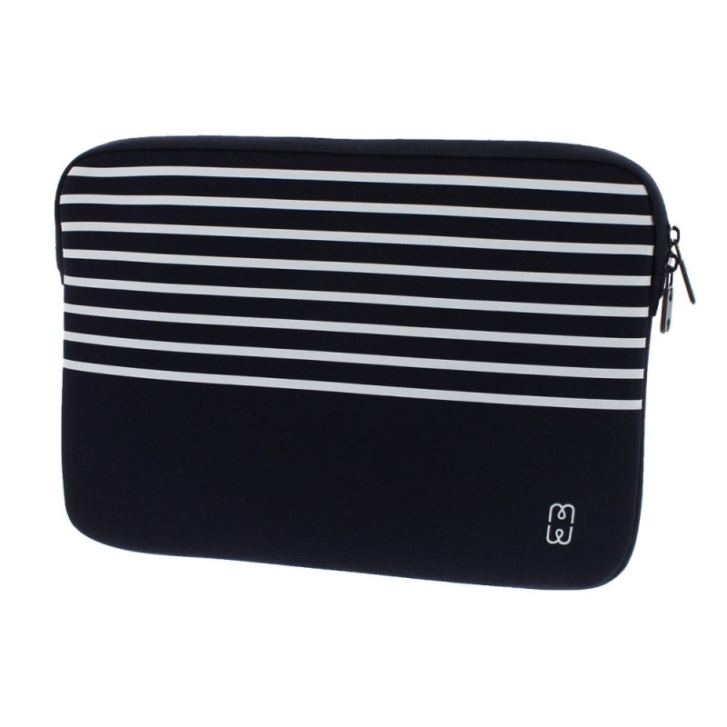 MW Sleeve voor Macbook Pro 13 inch / Macbook Air 2018 Blauw Marinière - 2