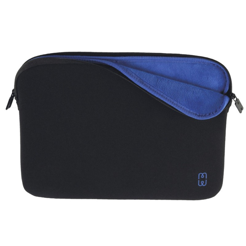 MW Sleeve voor Macbook Pro 13 inch / Macbook Air 2018 Zwart/Blauw - 1