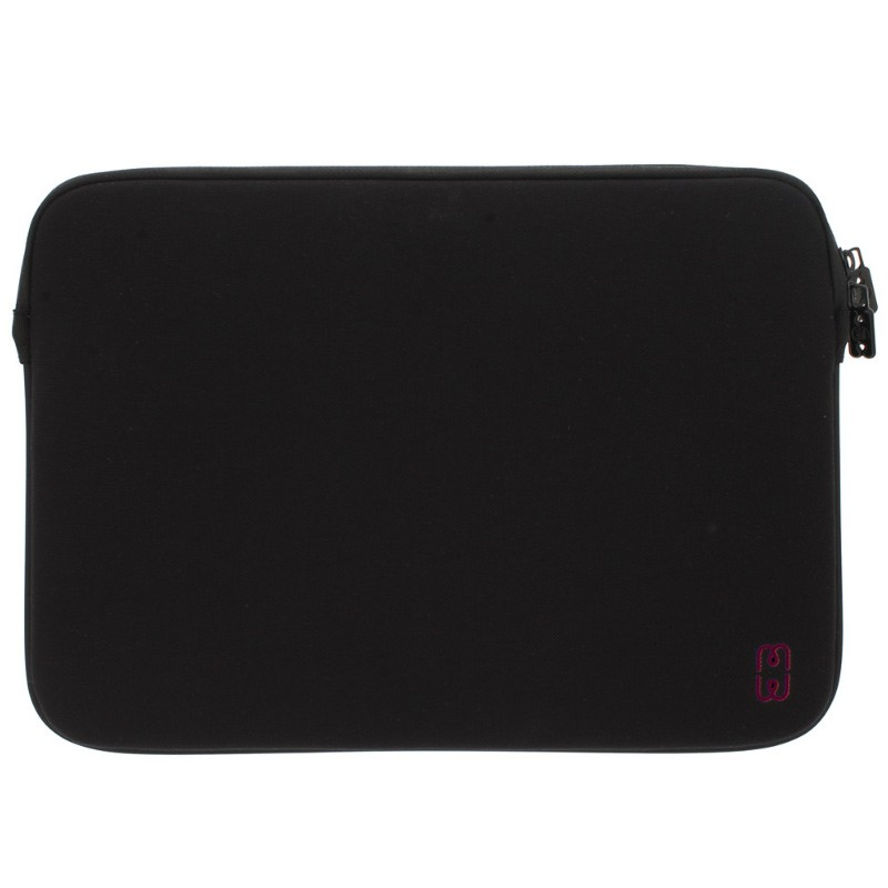 MW - MacBook Pro 13 inch / Air 2018 Sleeve Black/Cherry 01