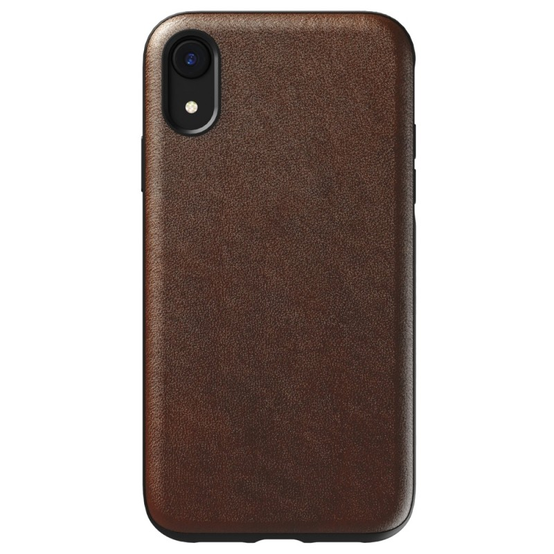 Nomad - Leather Case Apple iPhone XR Bruin 01