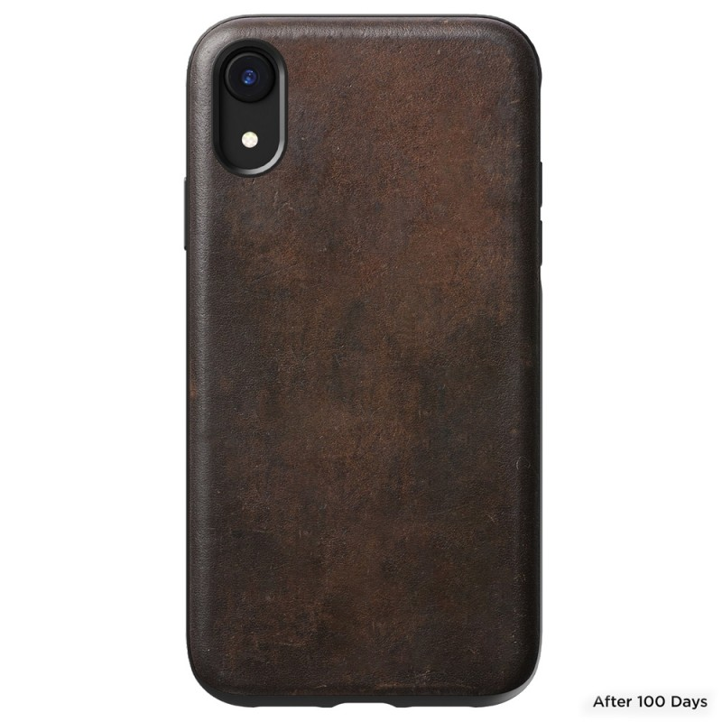 Nomad - Leather Case Apple iPhone XR Bruin 05