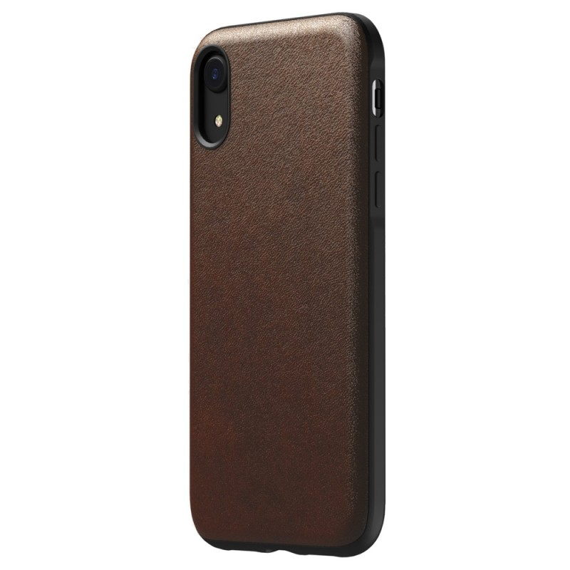 Nomad - Leather Case Apple iPhone XR Bruin 04