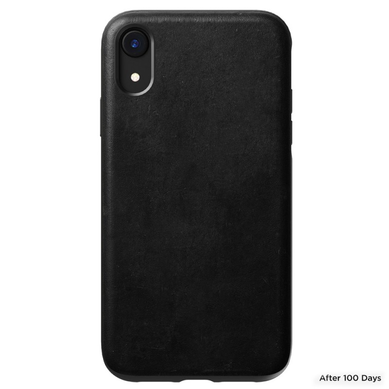 Nomad - Leather Case Apple iPhone XR Zwart 06