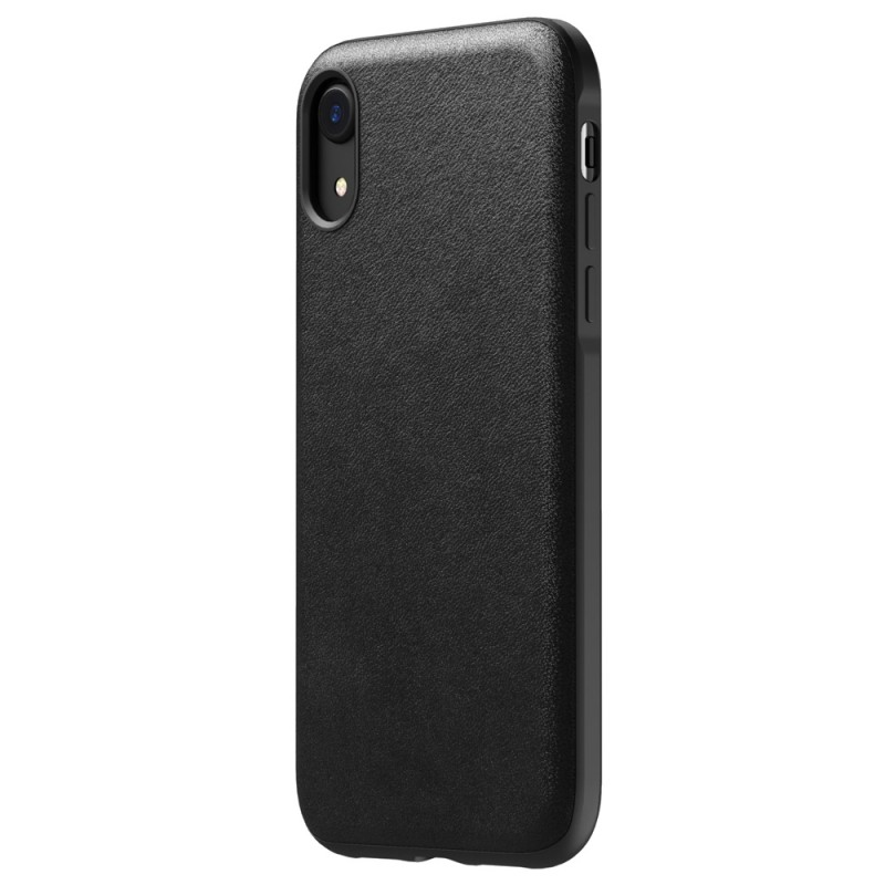 Nomad - Leather Case Apple iPhone XR Zwart 04