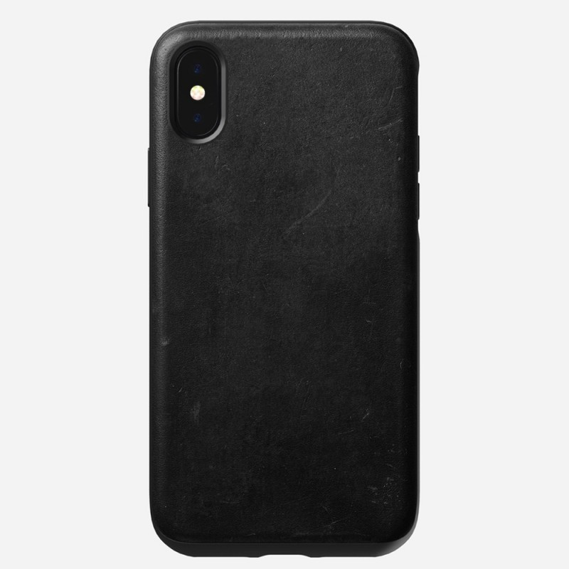 Nomad Rugged Leather Case iPhone X/XS Zwart - 2