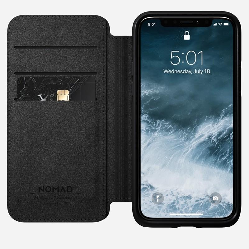 Nomad  Rugged Folio iPhone 11 Pro Bruin - 1