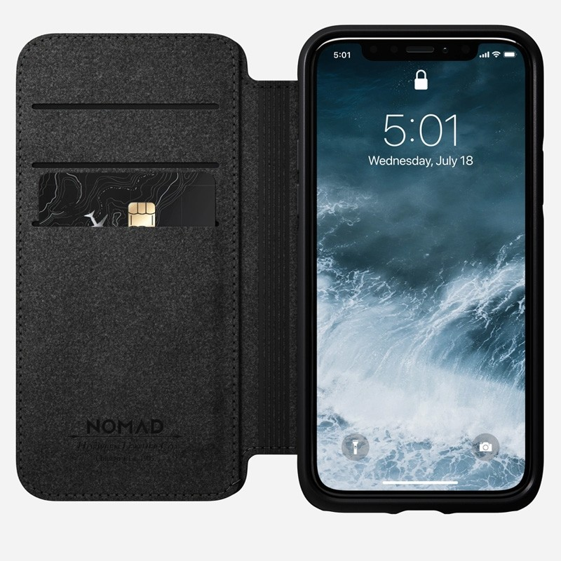 Nomad Rugged Folio iPhone 11 Pro Max Bruin - 1