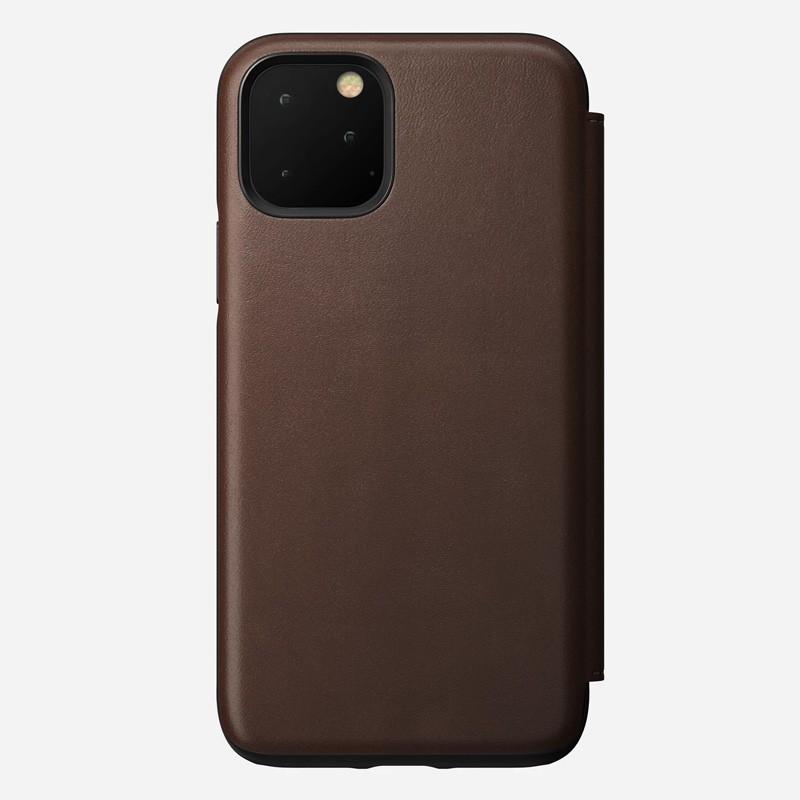 Nomad Rugged Folio iPhone 11 Pro Max Bruin - 6