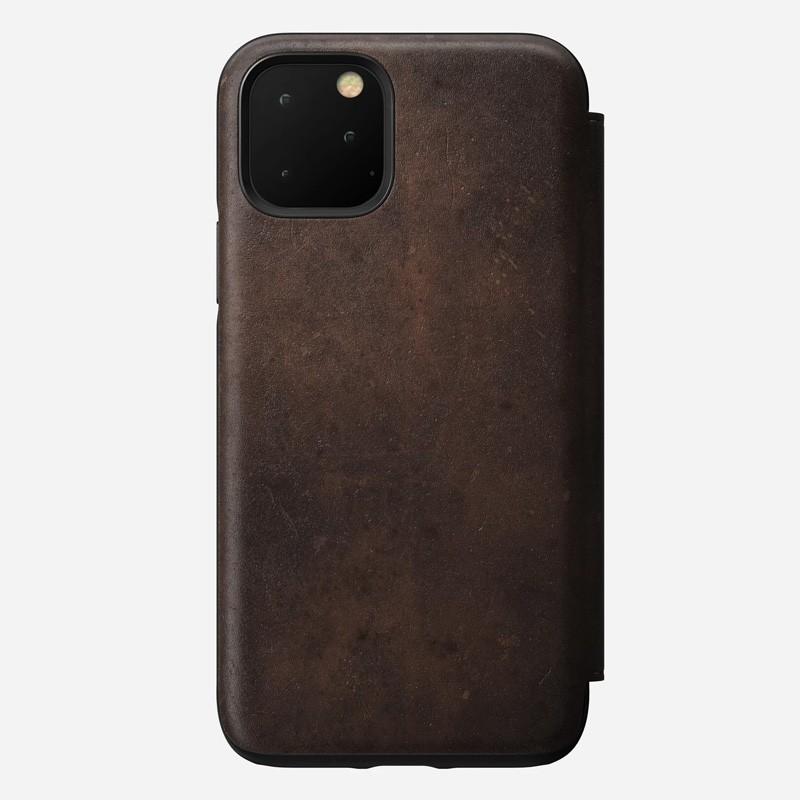 Nomad Rugged Folio iPhone 11 Pro Max Bruin - 4
