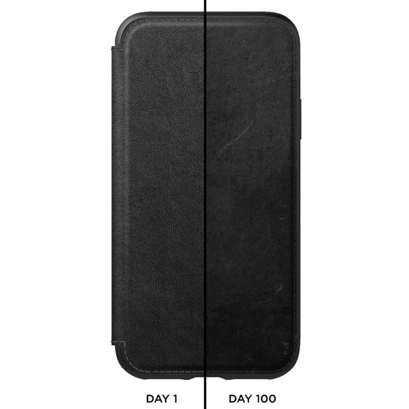 Nomad Leather Folio iPhone XR Zwart 03