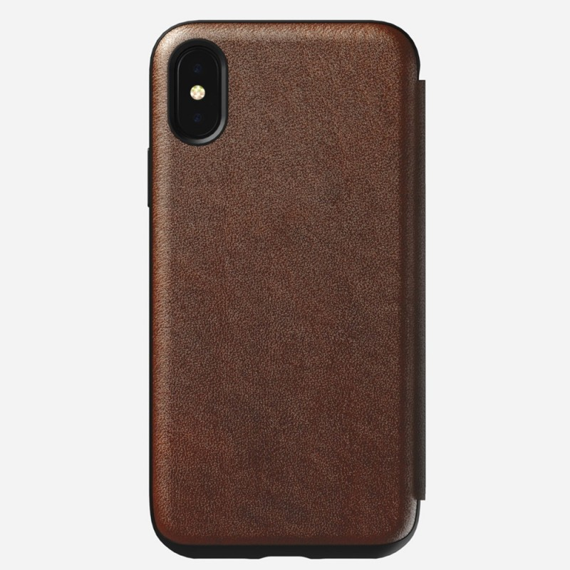 Nomad Rugged Leather Folio iPhone X/XS Bruin - 3