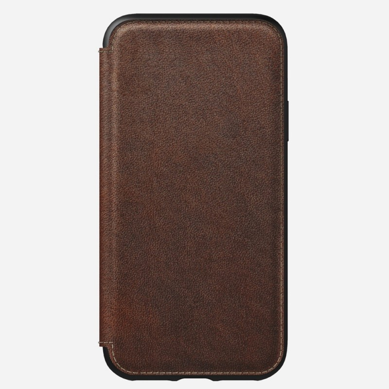 Nomad Rugged Leather Folio iPhone X/XS Bruin - 2