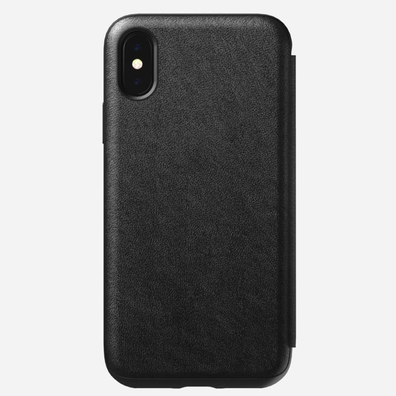 Nomad Rugged Leather Folio iPhone X/XS Zwart - 2