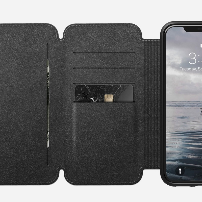 Nomad Rugged Tri-Folio Hoes iPhone X/XS Bruin - 3