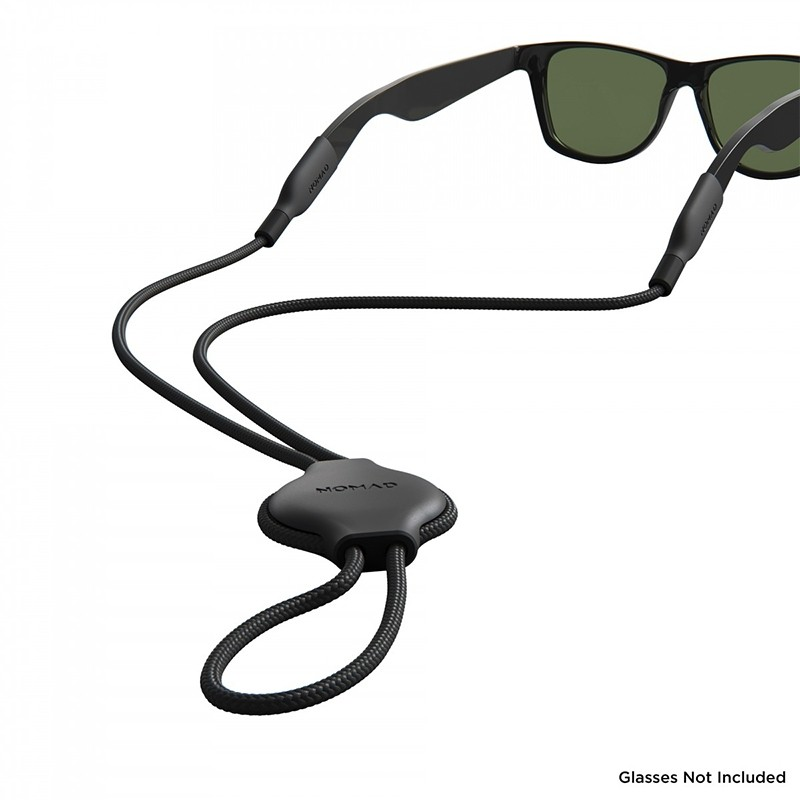 Nomad Glasses Strap AirTag Hoesje Zwart 02