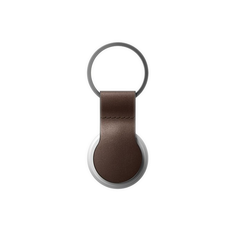 Nomad Leather Loop AirTag Hoesje Bruin 01