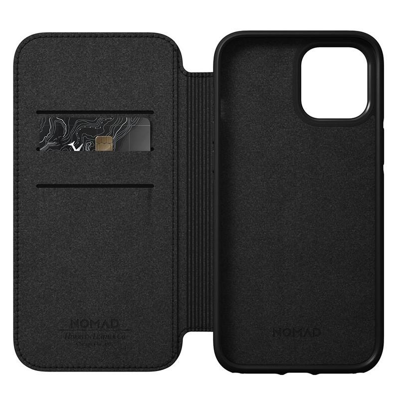 Nomad Rugged Folio iPhone 12 / iPhone 12 Pro 6.1 inch Zwart 07