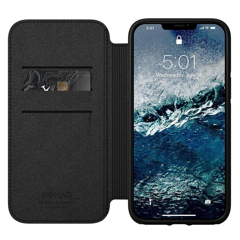 Nomad Rugged Folio iPhone 12 / iPhone 12 Pro 6.1 inch Zwart 03
