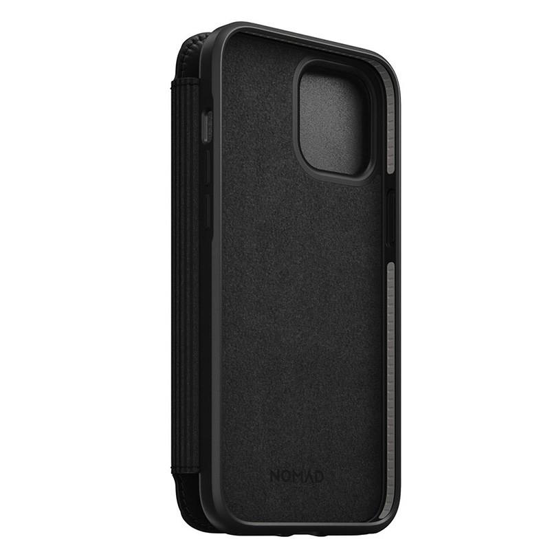 Nomad Rugged Folio iPhone 12 / iPhone 12 Pro 6.1 inch Zwart 04