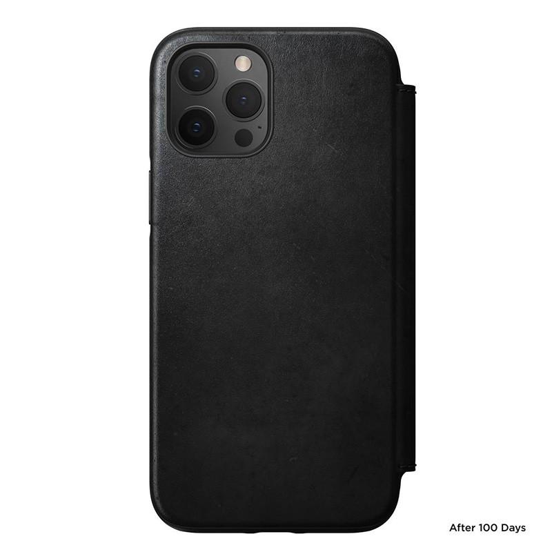 Nomad Rugged Folio iPhone 12 / iPhone 12 Pro 6.1 inch Zwart 05