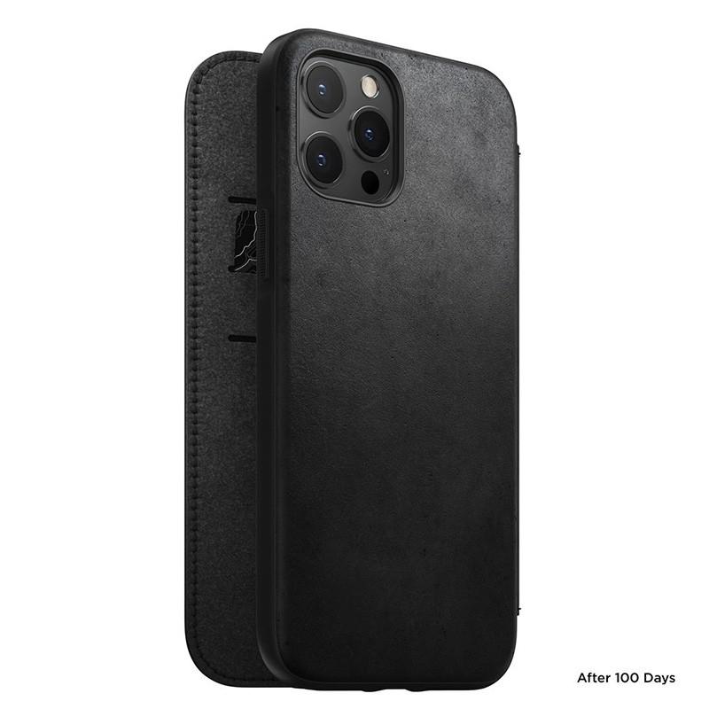Nomad Rugged Folio iPhone 12 / iPhone 12 Pro 6.1 inch Zwart 02