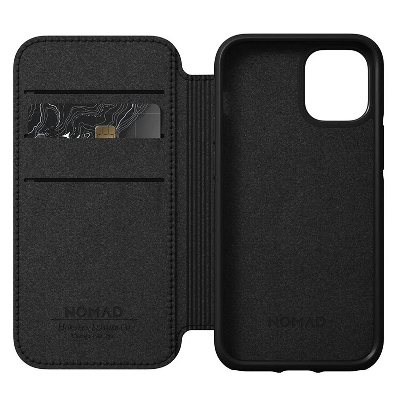 Nomad Rugged Folio iPhone 12 Mini 5.4 inch Bruin 08