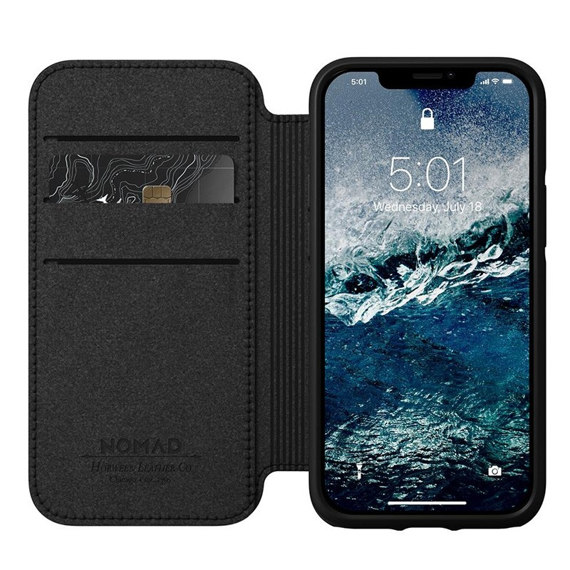 Nomad Rugged Folio iPhone 12 Mini 5.4 inch Bruin 03