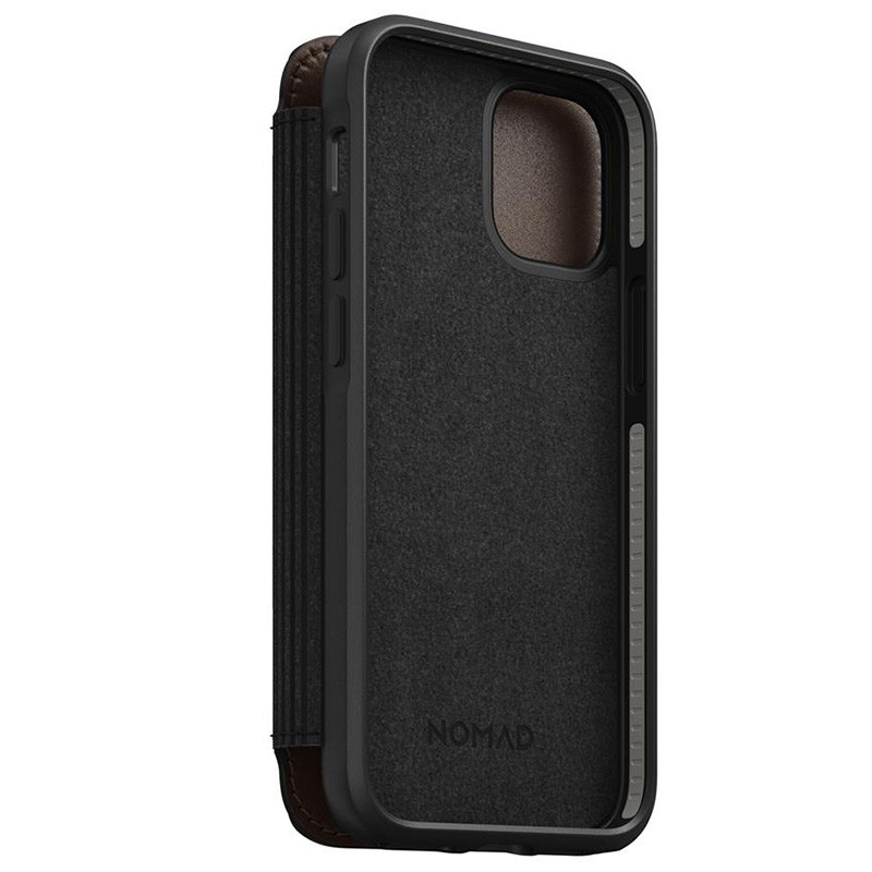 Nomad Rugged Folio iPhone 12 Mini 5.4 inch Bruin 04