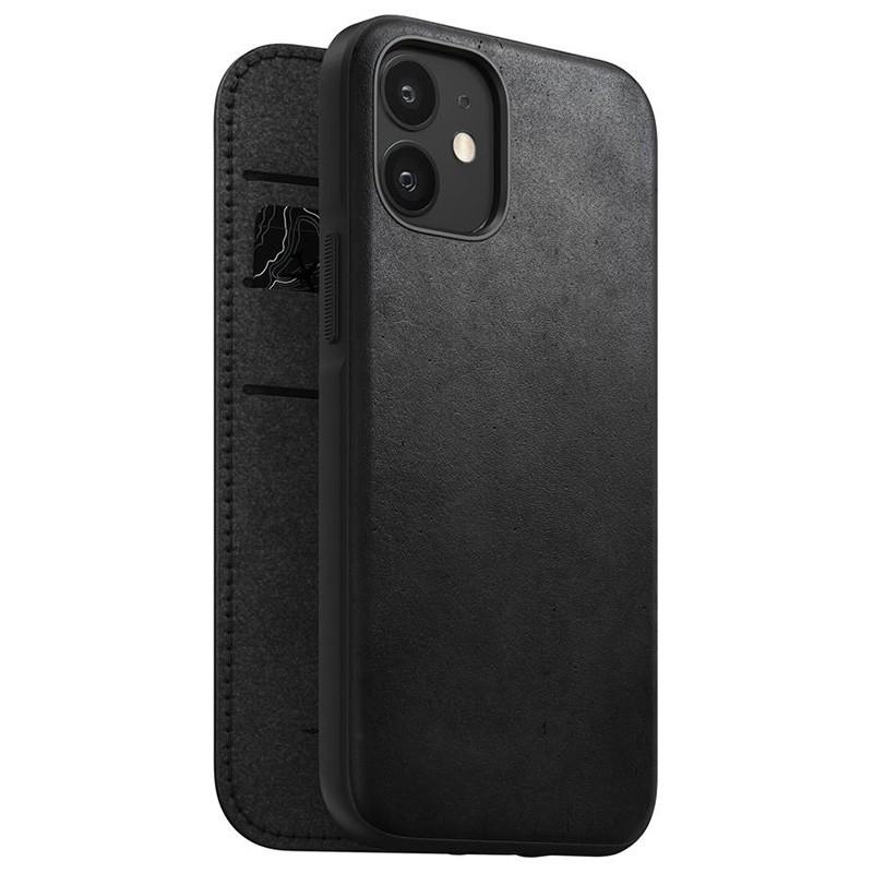 Nomad Rugged Folio iPhone 12 Mini 5.4 inch Zwart 01