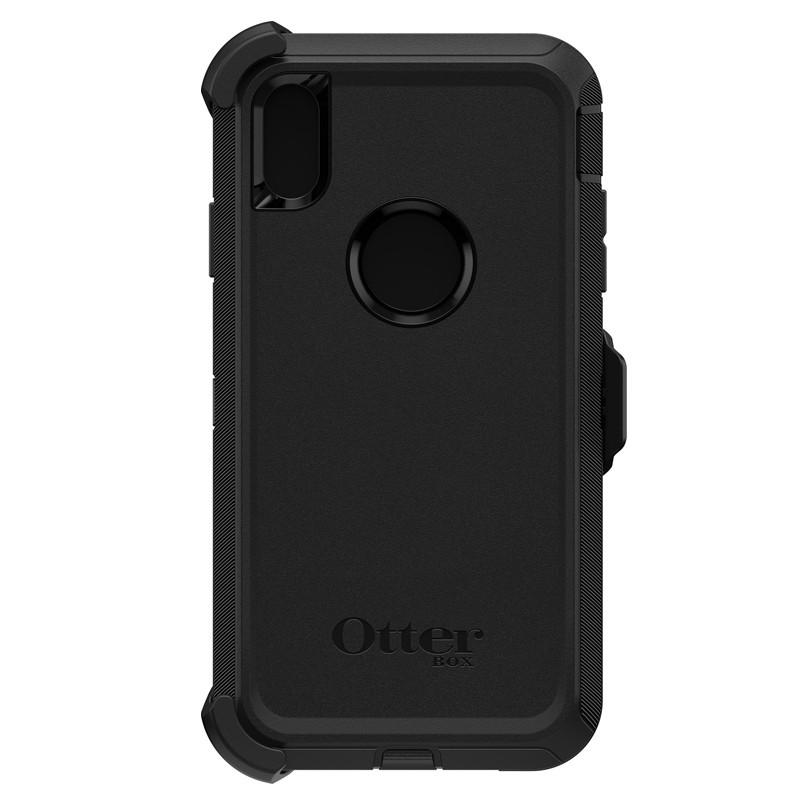 Otterbox Defender iPhone XR Hoes Zwart 02