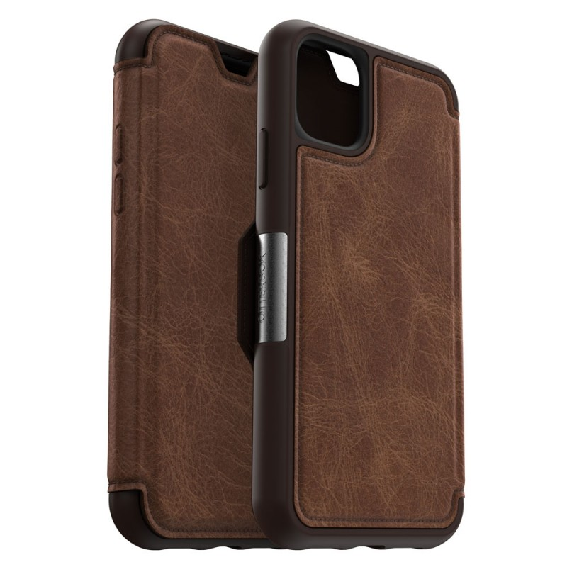 Otterbox Strada Folio iPhone 11 Pro Max Espresso Bruin - 1