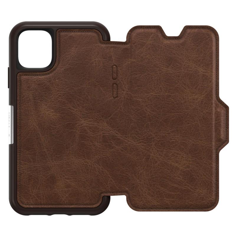 Otterbox Strada Folio iPhone 11 Pro Max Espresso Bruin - 3