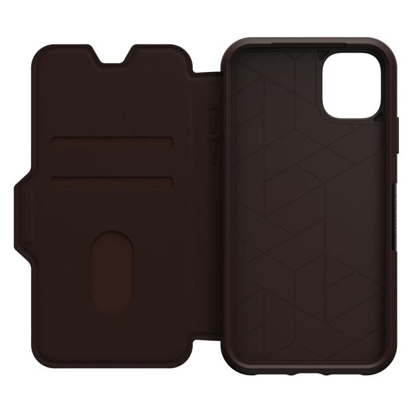 Otterbox Strada Folio iPhone 11 Pro Max Espresso Bruin - 6