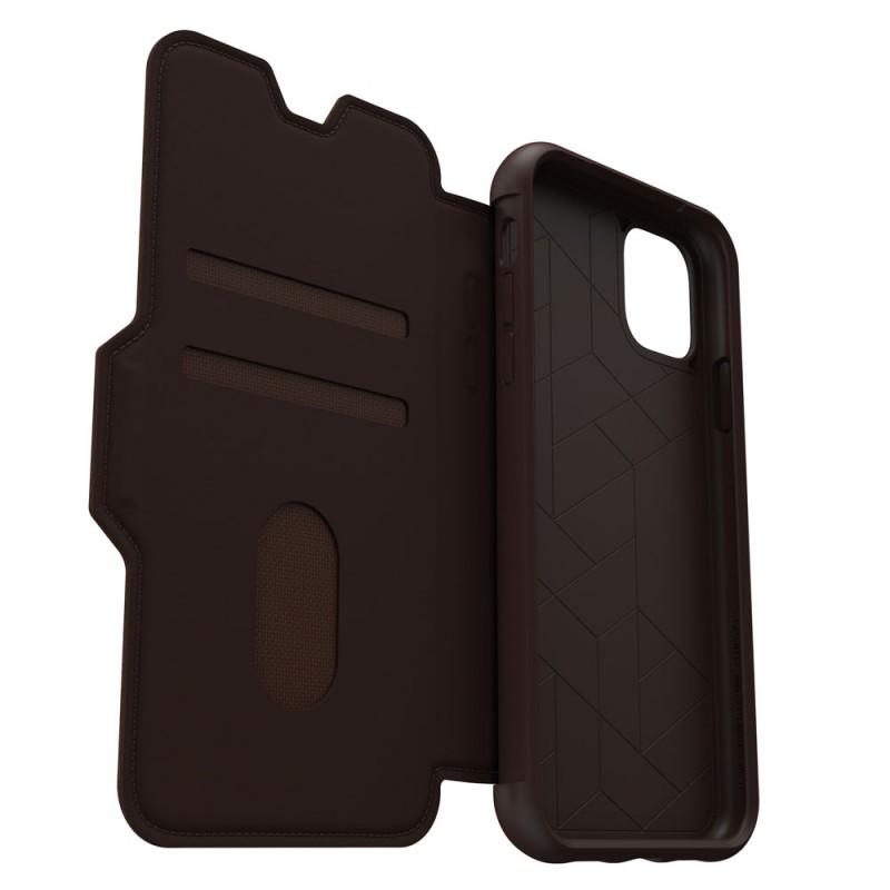 Otterbox Strada Folio iPhone 11 Pro Max Espresso Bruin - 7
