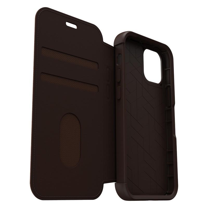 Otterbox Strada Folio iPhone 12 / 12 Pro 6.1 Bruin - 7