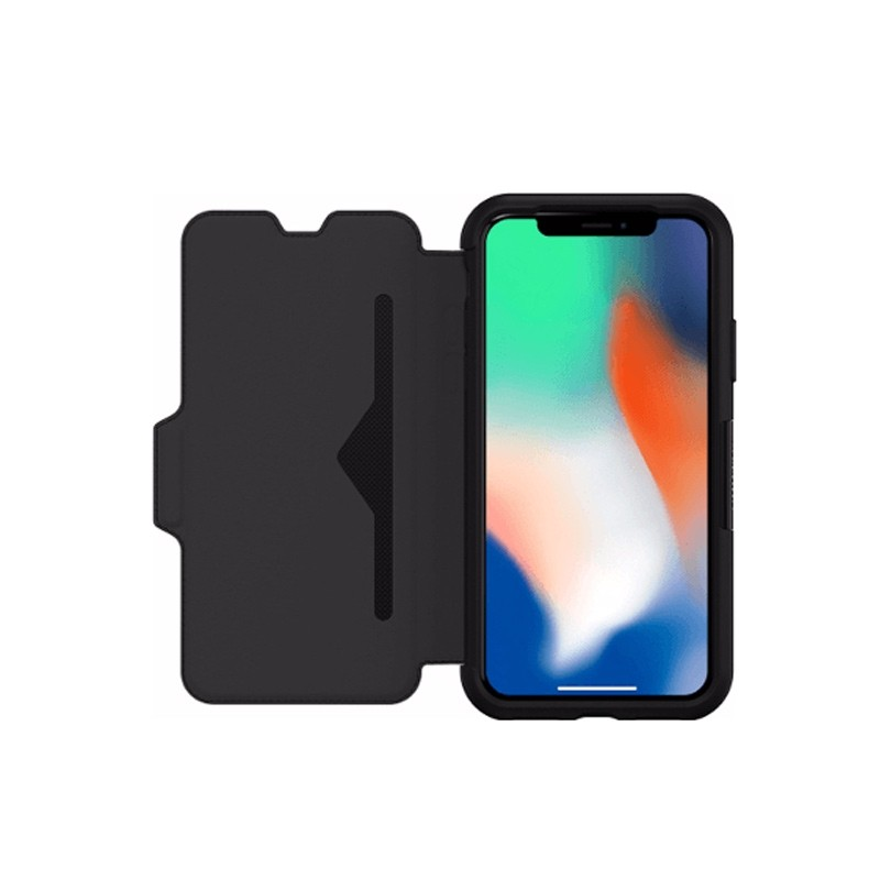 Otterbox - Clearly Protected Skin iPhone X/Xs Shadow Black 06