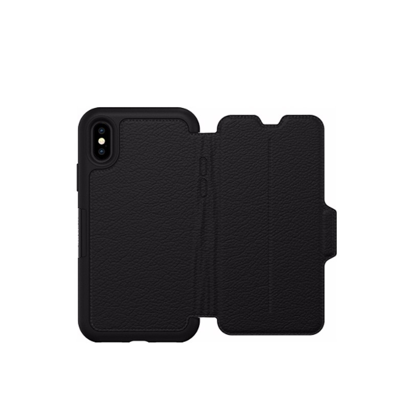 Otterbox - Clearly Protected Skin iPhone X/Xs Shadow Black 07