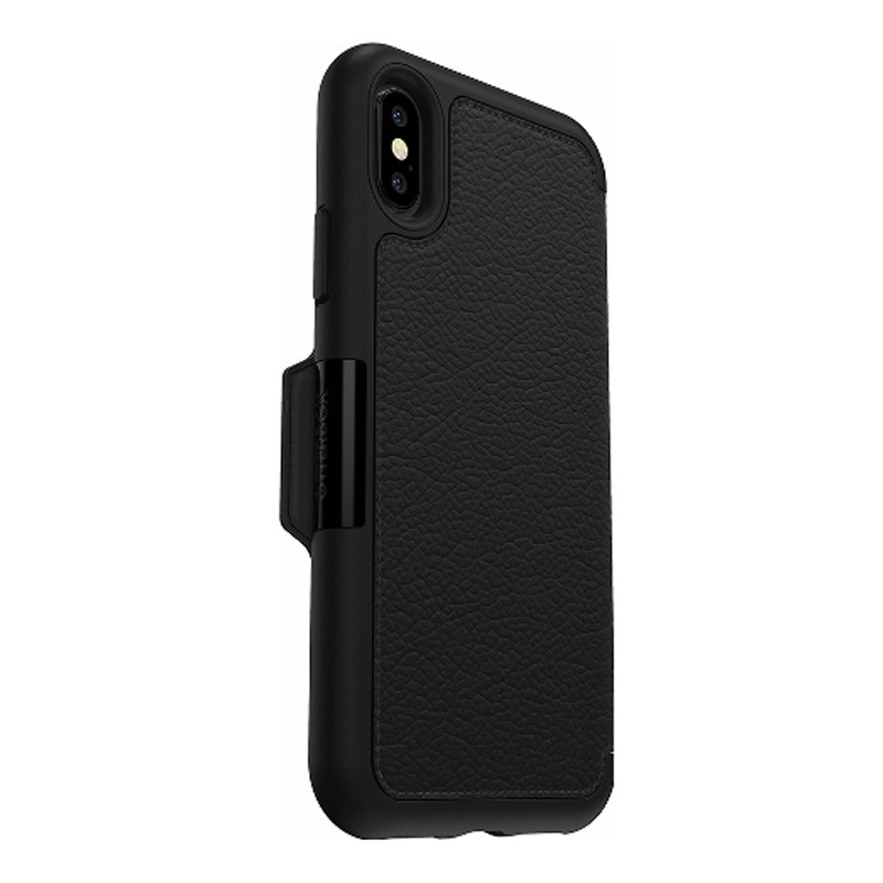 Otterbox - Clearly Protected Skin iPhone X/Xs Shadow Black 03