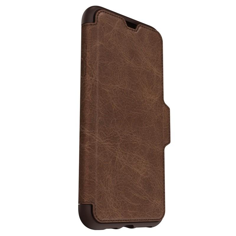 Otterbox Strada Folio iPhone XS Max Hoesje Espresso Bruin 07