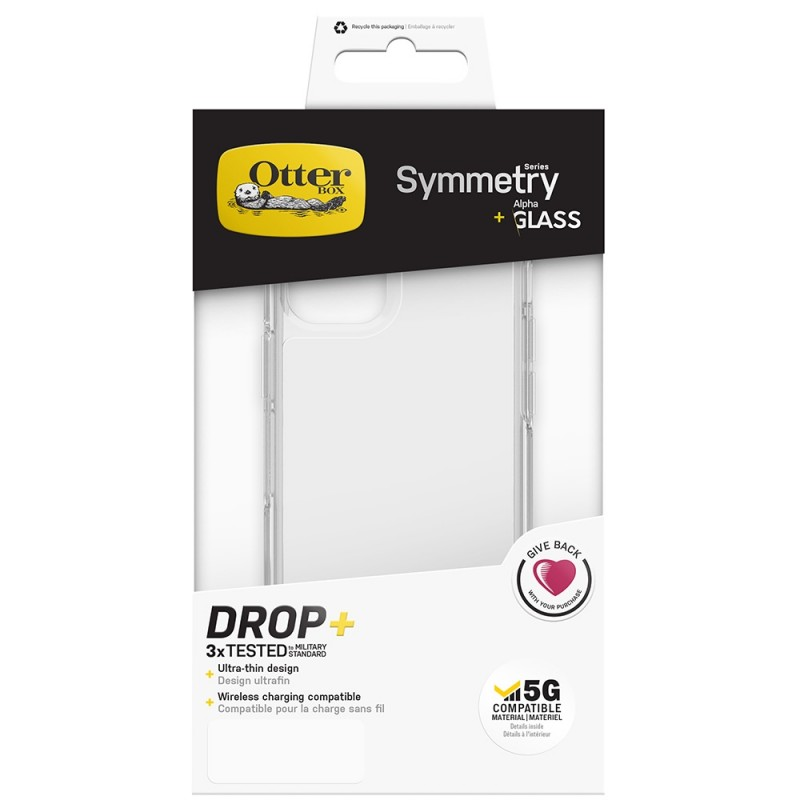 Otterbox Symmetry Clear + Alpha Glass iPhone 12 / 12 Pro 6.1 - 2