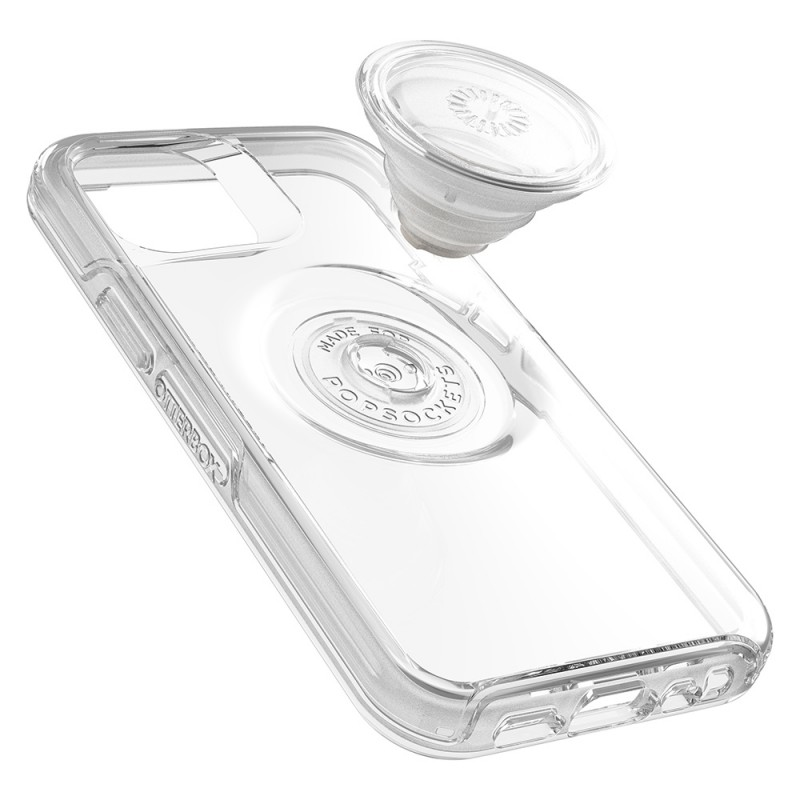 Otterbox Symmetry Clear Otter+Pop iPhone 12 / 12 Pro 6.1 Transparant - 6