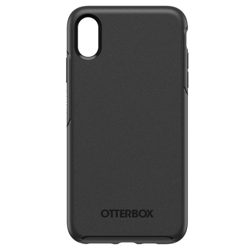 Otterbox Symmetry iPhone XR Hoesje Zwart 01