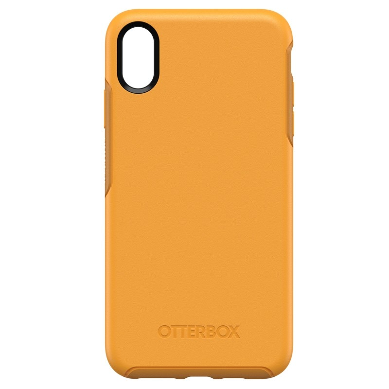 Otterbox Symmetry iPhone XS Max Hoesje Geel 01