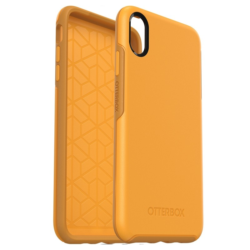 Otterbox Symmetry iPhone XS Max Hoesje Geel 03