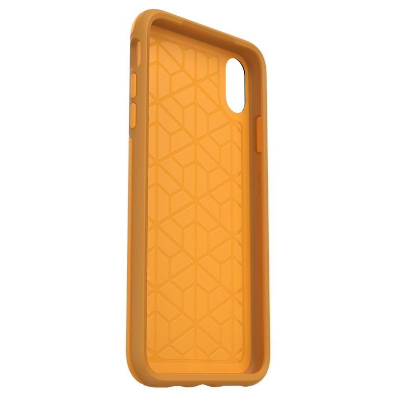 Otterbox Symmetry iPhone XS Max Hoesje Geel 05