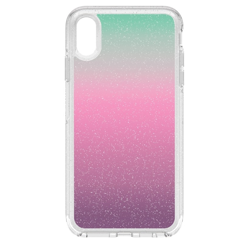 Otterbox Symmetry Clear iPhone XS Max Hoesje Gradient Energy 01